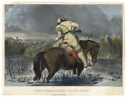 Currier Ives Original Lithograph