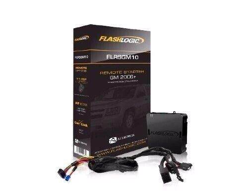 FlashLogic FLRSGM10 Remote Start Plug Play for 07-13 GMC Sierra Chevy Silverado