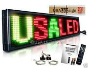 Programmable LED Sign Tri Color Outdoor