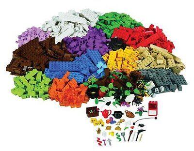NIB! LEGO 1207 Pieces Sceneries Bricks Building Set (9385)