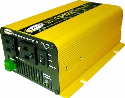 Go Power! GP-SW150-24 150W Pure Sine Wave Inverter, (150w Pure Sine Wave)