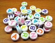 Letter A Beads