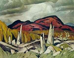 """A.J. Casson """"Madawaska Valley"""" rare Artist Proof Lithograph"""