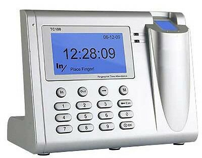 Fast New Biometric Fingerprint Employee Time Clock