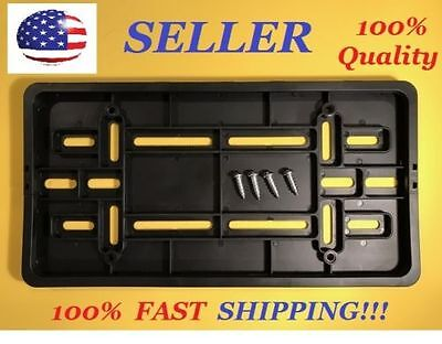 FRONT LICENSE PLATE BUMPER BRACKET FOR NISSAN   4 SCREWS WCLIP ON FRAME