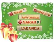 Personalised Stocking Fillers