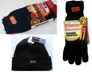Mens Hat and Gloves