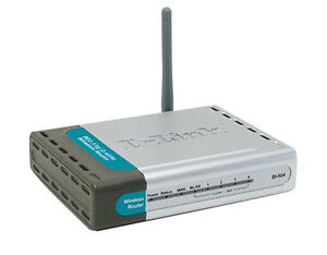 D-Link DI-524 Wireless Router and  Wireless cardbus Adaptor