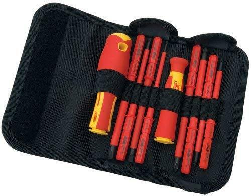 Interchangeable Insulated Screwdriver Set High Torque Precision Tool 18 Pieces