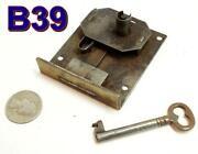 Antique Drawer Locks