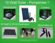 Solar Tauchpumpe