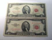 1963 Two Dollar Bill Red Seal