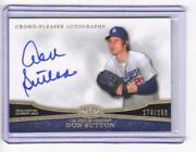 Don Sutton Autograph