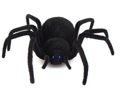 Radio Controlled Black Widow Spider Furry Scary Great Prank NEW](Scary Black Widow Spider)