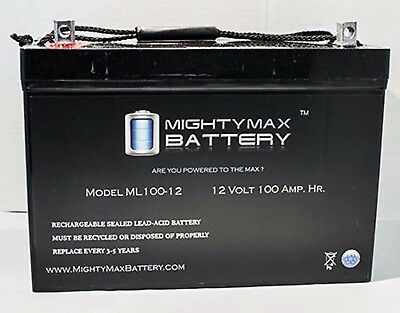 - TWO 12V 100AH Batteries Gel for Scooters, Power Chairs, Golf Carts, etc
