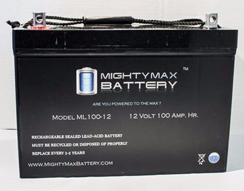 Two 12v 100ah Batteries Gel For Scooters, Power Chairs, Golf Carts, Etc