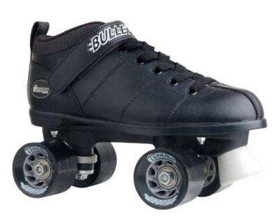 Black Bullet Men's Speed Skate by CHICAGO Skates Black Roller Skate Men