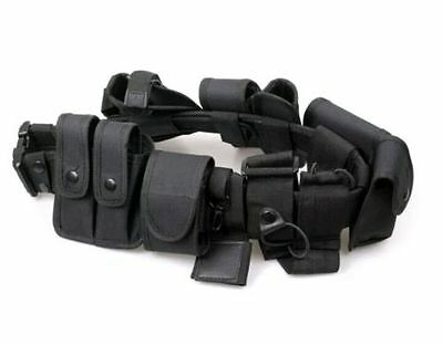 Police Utility Belts (Security Guard Police Style Utility Kit Tactical Belt w/ Pouch System Duty)