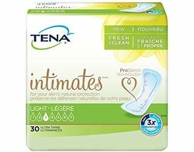 Tena Serenity Ultra Thin Regular Pads Bladder Control Liners Case of 180 46500