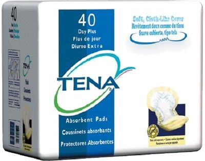 TENA Day Plus Pads, Heavy Absorbency, Yellow, Pant Liners, 62618 - Case of