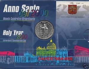 2000 VATICAN CITY JOHN PAUL II HOLY YEAR, UNC SILVER COIN 2000 LIRE JUBILEE - Italia - 2000 VATICAN CITY JOHN PAUL II HOLY YEAR, UNC SILVER COIN 2000 LIRE JUBILEE - Italia