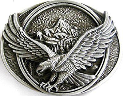 Buckle Adler, Flying Eagle, Gebirge - Gürtelschnalle