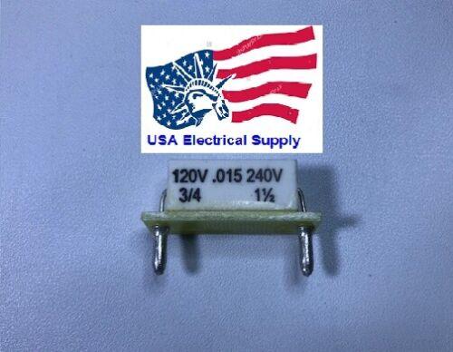 KB/KBIC DC Motor Control Plug-In Horsepower Resistor # 9842, .015 Ohms.