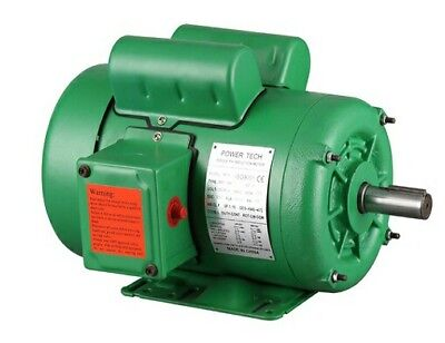 Nema Farm Duty 2 Hp 1725rpm 145t Single Phase Electric Motor 78 Shaft Tefc