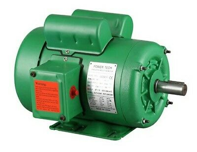 1hp Nema Farm Duty 1725rpm 143t Single Phase Electric Motor Tefc 78 Shaft.