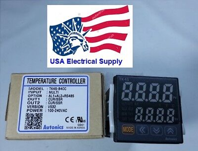 Tk4s-b4cc Pid Temperature Controller 4-20ma And Ssr Rs485 Control Output