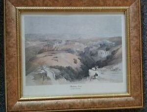 3 David Roberts Holyviews Ltd. Framed Lithographs Kitchener / Waterloo Kitchener Area image 1