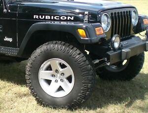 Jeep Wrangler/TJ Rubicon Rims