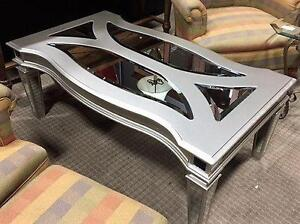 NEW Contemporary Glass Coffee Table