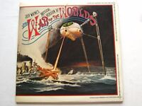JEFF WAYNES MUSICAL VERSION WAR OF THE WORLDS LP
