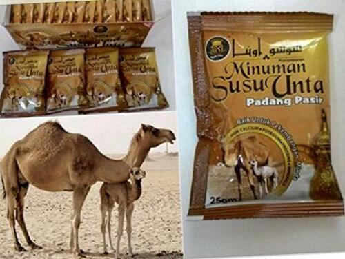 Camel milk powder SUSU UNTA (1box) 500gm=17.64Oz Halal & Kosher(20's)sachetsx25g