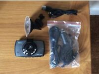 **As New Itek I67001 Slimline HD Car Dash Camera with Motion Detection**