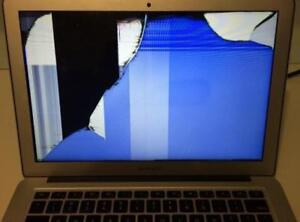 BROKEN SCREEN FOR MACBOOK AND LAPTOP FOR A CHEAPER PRICE!