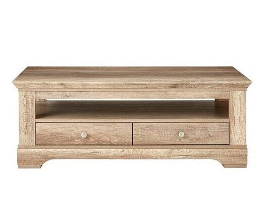 Ideal Home Wiltshire 2 Drawer Coffee Table In Rustic Oak Effect In Coventry West Midlands Gumtree