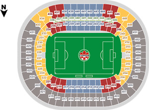 SEP 6 - EL SALVADOR @ CANADA (SEC 215) CENTER FIELD!