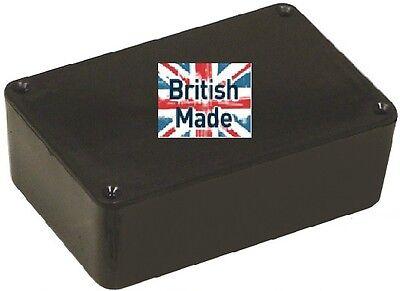 ABS BLACK PLASTIC ELECTRONICS PROJECT BOX ENCLOSURE 74 X 51 X 26MM