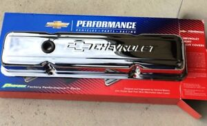 Chevrolet Chrome Short Valve Covers