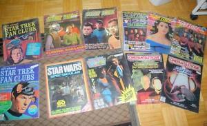 STAR TREK & SCI-FI COLLECTION of NOVELS & MAGAZINES
