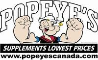 Popeyes Supplements is Hiring (St. James Location)