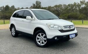 2008 Honda CR-V MY07 (4x4) Luxury White 6 Speed Manual Wagon Cannington Canning Area Preview
