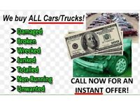 vehicles wanted scrap/mot failures