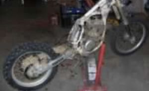 I am looking for a blown up dirt bike from year 2000 and up
