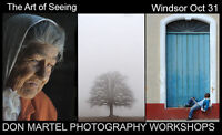 The Art of Seeing  - One Day Only -  Windsor     Oct 31