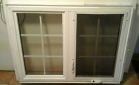NEW 2 PCV WINDOWS reduced was $1200 both now $800 BOTH