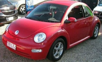 2005 Volkswagen Beetle 9C MY2005 Coupe Red 4 Speed Automatic Liftback Bungalow Cairns City Preview