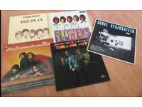 Jimi Hendrix, The Monkies, The Osmonds, Bruce Springstein